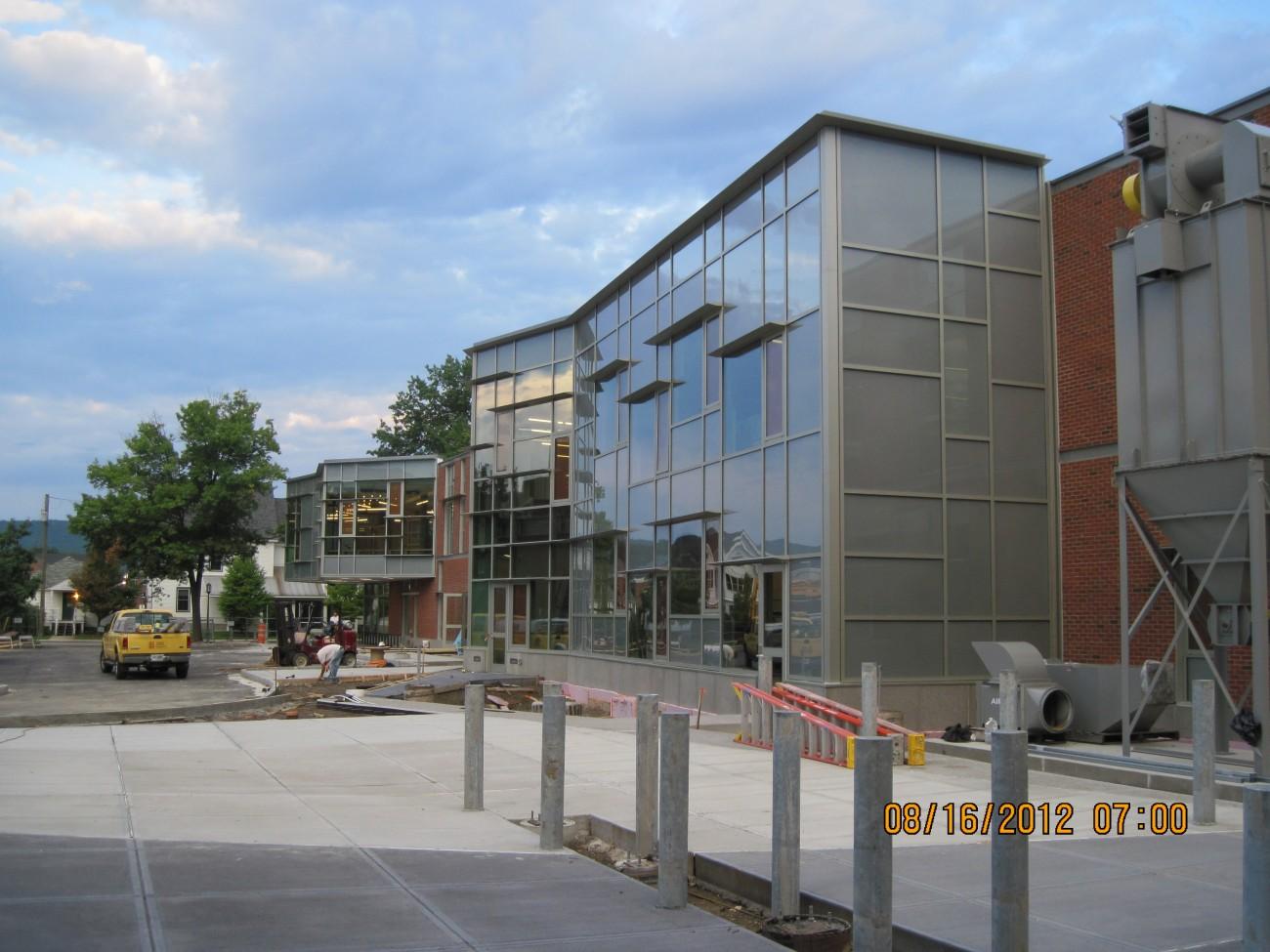 Keene State College Tds Center Galaxy Glass Amp Aluminum